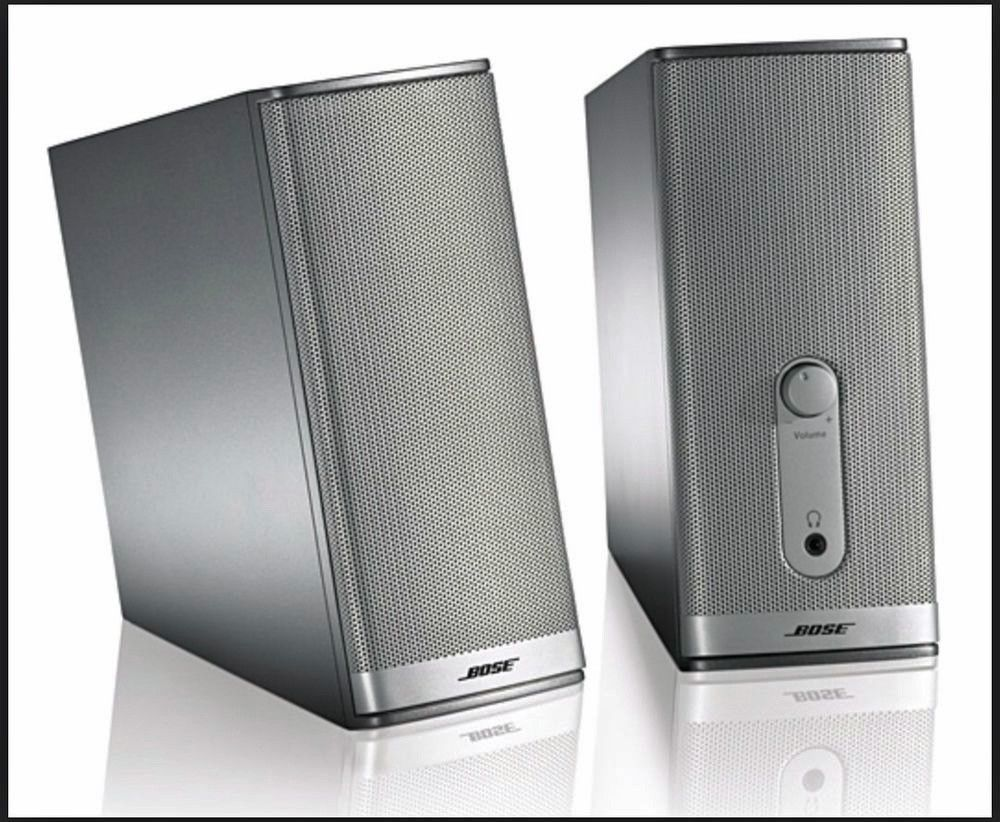 bose companion 2 series ii multimedia speaker system secondhandmovinghomesale. Black Bedroom Furniture Sets. Home Design Ideas
